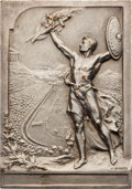 Miscellaneous Collectibles:General, 1906 Athens Intermediate Summer Olympics Winner's Plaque....
