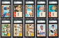 Baseball Cards:Sets, 1968 Topps Baseball High Grade Complete Set (598). ...