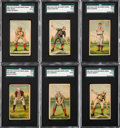 Baseball Cards:Lots, 1887 N284 Buchner Gold Coin SGC Graded Collection (6). ...