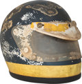 Miscellaneous Collectibles:General, 1969 Ronnie Peterson Race Worn Helmet from Formula 3Championship....