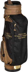 Baseball Collectibles:Others, 1986 Gary Carter's Celebrity Player's Tour Golf Bag from The GaryCarter Collection....