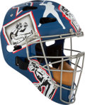 Baseball Collectibles:Others, Circa 2003 Gary Carter Presentation Catcher's Mask Gifted by theMontreal Expos from The Gary Carter Collection. ...