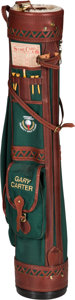 Baseball Collectibles:Others, Circa 2000 Gary Carter's Warner Lambert Celebrity Golf Classic Bag& Clubs from The Gary Carter Collection....