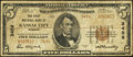 National Bank Notes:Missouri, Kansas City, MO - $5 1929 Ty. 2 The First NB Ch. # 3456. ...
