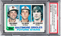 Baseball Cards:Singles (1970-Now), 1982 Topps Orioles Future Stars #21 PSA Gem Mint 10....