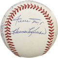 Autographs:Baseballs, Five Hundred Home Run Club Multi-Signed Baseball. A baseball couldhave no greater honor than to hold signatures of members...