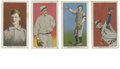 Baseball Cards:Lots, 1910 E96 Group Lot of 4. The 1910 Philadelphia Caramel 30-cardissue ranks among the more impressive of the early 20th cent...