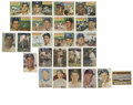 Baseball Cards:Lots, 1956-57 Topps Baseball Group Lot of 24. Amazing selection of cardsfrom these two classic issues features an incredible amo...
