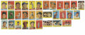 Baseball Cards:Lots, 1958 Topps Baseball Group Lot of 32. From this classic issue weoffer 32 cards, including the #1 Ted Williams, his last Top...