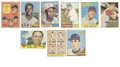 Baseball Cards:Lots, 1957-62 Topps Baseball Group Lot of 201. From a golden age inbaseball cards we offer this lot of 1957-62 Topps cards. Not...