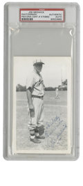 "Autographs:Photos, Joe Medwick Signed Photograph. The tough play of ""Ducky"" Medwick earned the outfielder a spot in Cooperstown. Known for hi..."