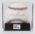 Autographs:Baseballs, Jose Canseco Single Signed Baseball, PSA Mint+ 9.5. Although he hasbeen ravaged by controversy as of late, Jose Canseco ha...