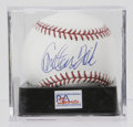 "Autographs:Baseballs, Carlton Fisk Single Signed Baseball, PSA Gem Mint 10. ""Sheerperfection"" is the only term that can be accurately applied to..."