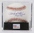Autographs:Baseballs, Ralph Kiner Single Signed Baseball, PSA Mint 9. Kiner, the HOFoutfielder who struck fear into the hearts of pitchers of th...