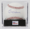 Autographs:Baseballs, Earl Weaver Single Signed Baseball, PSA Mint+ 9.5. Earl Weaver, theintense Orioles manager for 17 seasons, has added a per...