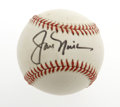 Golf Collectibles:Autographs, Jack Nicklaus Single Signed Baseball. What a splendid chance to ownthis baseball by the Golden Bear himself! Signature is...
