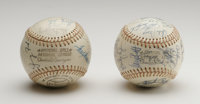1976 American & National League All-Star Team Signed Baseballs with President Ford. The now-defunct Veterans Stadium...