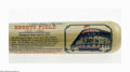 Autographs:Bats, Brooklyn Dodgers Stars Multi-Signed Bat. Gorgeous Cooperstown BatCo. bat pays tribute to the men of Ebbets with twenty-six...