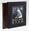Autographs:Others, Nolan Ryan Signed Limited Edition Book. This beautiful leatherbound pictorial history of Ryan is one of a limited availabi...
