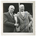 Autographs:Photos, Connie Mack Signed Photograph. The storied player, manager and teamowner, Connie Mack was elected to Cooperstown's second ...