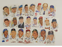 Signed Perez-Steele Postcards Lot of 82. Huge lot of HOF signatures is offered here, each on a Perez-Steele postcard. Al...