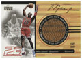 Basketball Collectibles:Others, 1998-99 Upper Deck Ovation Michael Jordan Game Used Basketball Card#BK1. 1998-99's Upper Deck Ovation issue included some ...