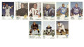 Football Cards:Lots, 1961 Fleer Football Group Lot of 95. Ninety-five cards from the 1961 Fleer set are offered here. Some of the noteworthy in...