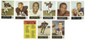 Football Cards:Sets, 1965 Philadelphia Football Complete Set. Excellent full color set features bold photography and bright colors. Highlights ...