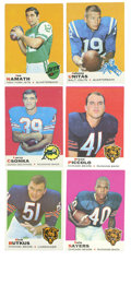 Football Cards:Sets, 1969 Topps Football Complete Set (263). The beautifully rendered 1969 Topps football set, released in two series, features ...