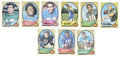 Football Cards:Sets, 1970 Topps Football Complete Set (263). Impressive 263 card set from Topps, known for its framed border. Notable cards inc...