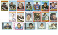 Football Cards:Lots, 1971 Topps Football Complete Set, 1972 Topps Football Low Numbers Set (263/263). The 263 card set of 1971 Topps is known fo... (Total: 2 Items)