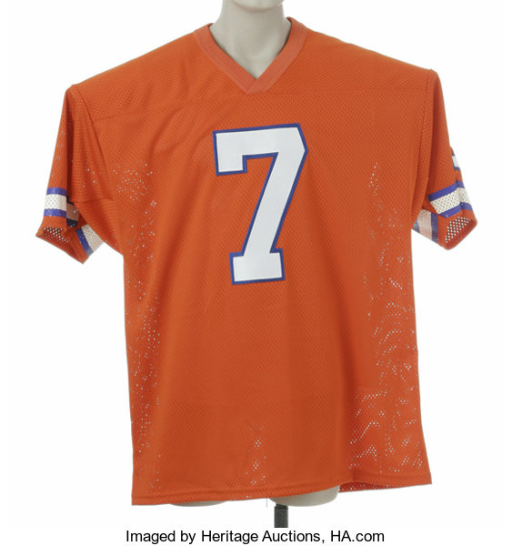 buy popular 8a818 bdc61 John Elway Signed Jersey. Fine replica of his