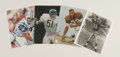 """Football Collectibles:Others, Football Stars Signed Photographs Lot of 24. These 24 8x10"""" prints have been signed by the gridiron greats of the the 20th ..."""