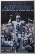 Football Collectibles:Others, Troy Aikman and Emmitt Smith Signed Posters. The Dallas Cowboys of the mid-1990s were a legitimate football dynasty, winnin...
