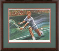 Autographs:Others, Rod Laver and Billie Jean King Signed Lithographs. Each of thesetwo limited edition lithographs features a member of tenni...
