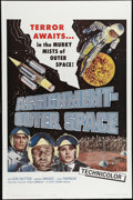 """Movie Posters:Science Fiction, Assignment Outer Space (Four Crown, 1962). One Sheet (27"""" X 41""""). A plausible plot about a reporter sent on assignment on a ..."""