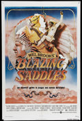 """Movie Posters:Comedy, Blazing Saddles (Warner Brothers, 1974). One Sheet (27"""" X 41""""). In 1974, Mel Brooks created one of the most groundbreaking c..."""