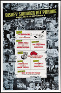 """Movie Posters:Miscellaneous, Disney Summer Hit Parade (Buena Vista, 1977). One Sheet (27"""" X 41""""). A compilation of Disney fun that lasts throughout the s..."""