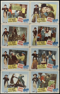 """Fancy Pants (Paramount, 1950). Lobby Card Set of 8 (11"""" X 14""""). Bob Hope and Lucille Ball star in this comedy..."""