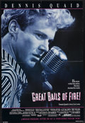 "Movie Posters:Drama, Great Balls of Fire! (Orion, 1989). One Sheet (27"" X 41""). Dennis Quaid, Winona Ryder and Alec Baldwin star in the story of ..."