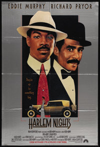 """Harlem Nights (Paramount, 1989). One Sheet (27"""" X 41""""). Eddie Murphy wrote, directed and stars in this funny c..."""