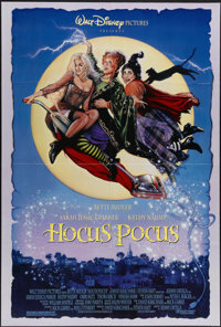 "Hocus Pocus (Buena Vista, 1993). One Sheet (27"" X 41""). Bette Midler, Sarah Jessica Parker and Kathy Najimy st..."