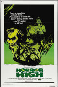 "Movie Posters:Horror, Horror High (Crown-International, 1974). One Sheet (27"" X 41""). Also called ""Twisted Brain,"" Pat Cardi, Rosie Holotik and Jo..."