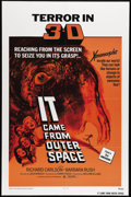 """Movie Posters:Science Fiction, It Came From Outer Space (Universal, R-1972). One Sheet (27"""" X 41""""). Jack Arnold directed this adaptation of an early Ray Br..."""
