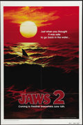 """Movie Posters:Horror, Jaws 2 (Universal, 1978). Advance One Sheet (27"""" X 41""""). """"Just when you thought it was safe to go back into the water..."""" Wh..."""