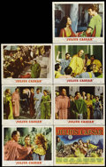 "Movie Posters:Drama, Julius Caesar (MGM, 1953). Lobby Cards (7) (11"" X 14""). Marlon Brando, James Mason, John Gielgud, Edmond O'Brien, Greer Gars... (Total: 7 Items)"