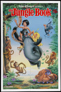 "Movie Posters:Animated, The Jungle Book (Buena Vista, R-1990). One Sheet (27"" X 41""). The classic Disney film based on Rudyard Kipling's tales of th..."