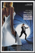 "Movie Posters:Action, The Living Daylights (United Artists, 1987). One Sheet (27"" X 41"").Timothy Dalton takes up the James Bond banner in yet ano..."