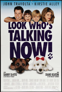 """Look Who's Talking Now (Tri Star Pictures, 1993). One Sheet (27"""" X 41""""). John Travolta and Kirstie Alley star..."""
