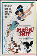 "Movie Posters:Animated, Magic Boy (MGM, 1960). One Sheet (27"" X 41""). Before Japanese animation was stylized as anime, there was a long tradition of..."